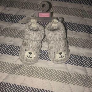 Gray Bear NB slippers